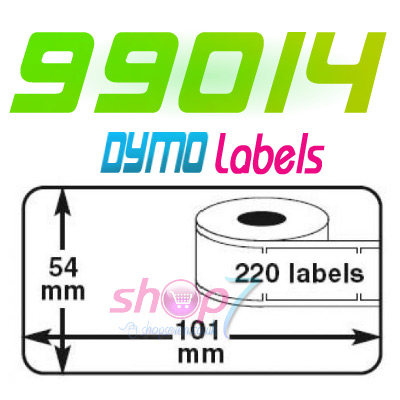 10 rolls 99014 dymo sieko compatible address label uk ebay for Dymo address label template