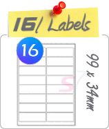16 Labels Per Sheet