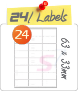 65 Labels Per Sheet
